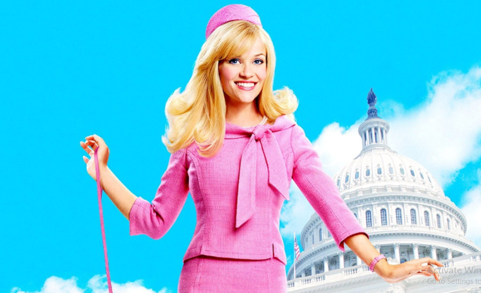 Reese Witherspoon as as Elle Woods in Legally Blonde