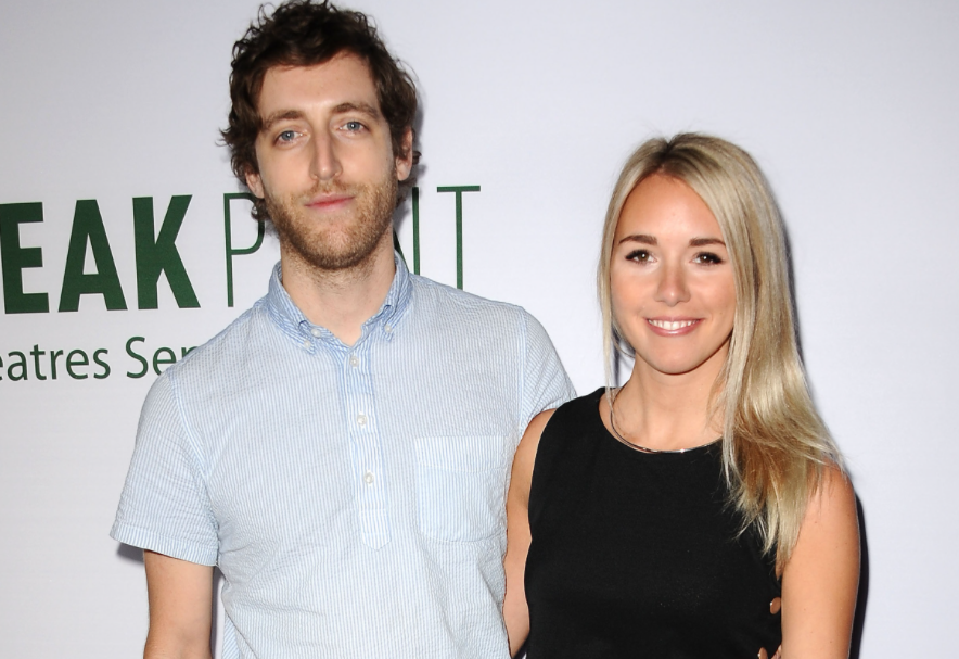 Thomas Middleditch and his wife, Mollie Gates