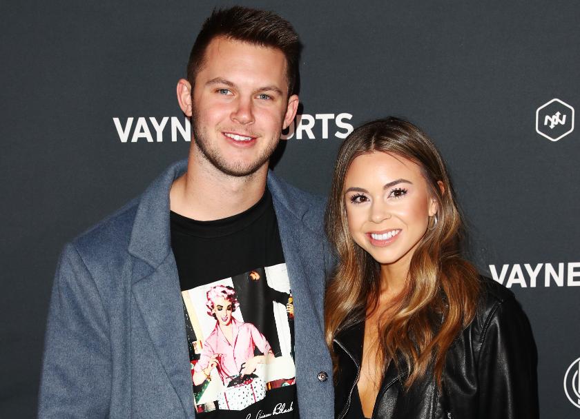 Kyle Allen and his girlfriend, Summer Juraszek