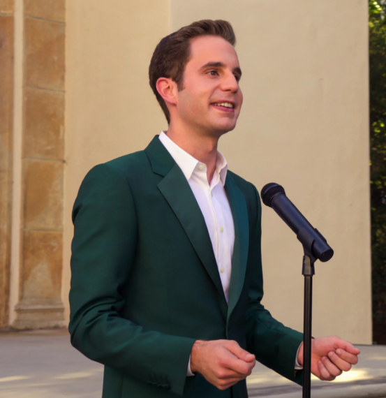 Ben Platt in the movie The Politician