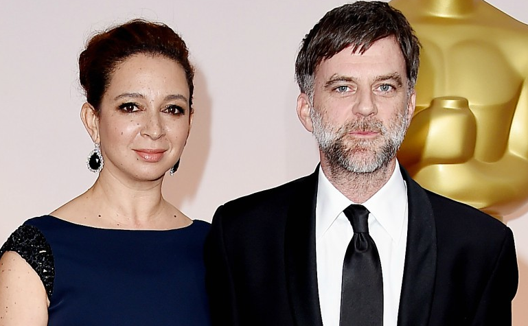 Maya Rudolph and her partner Paul Thomas Anderson