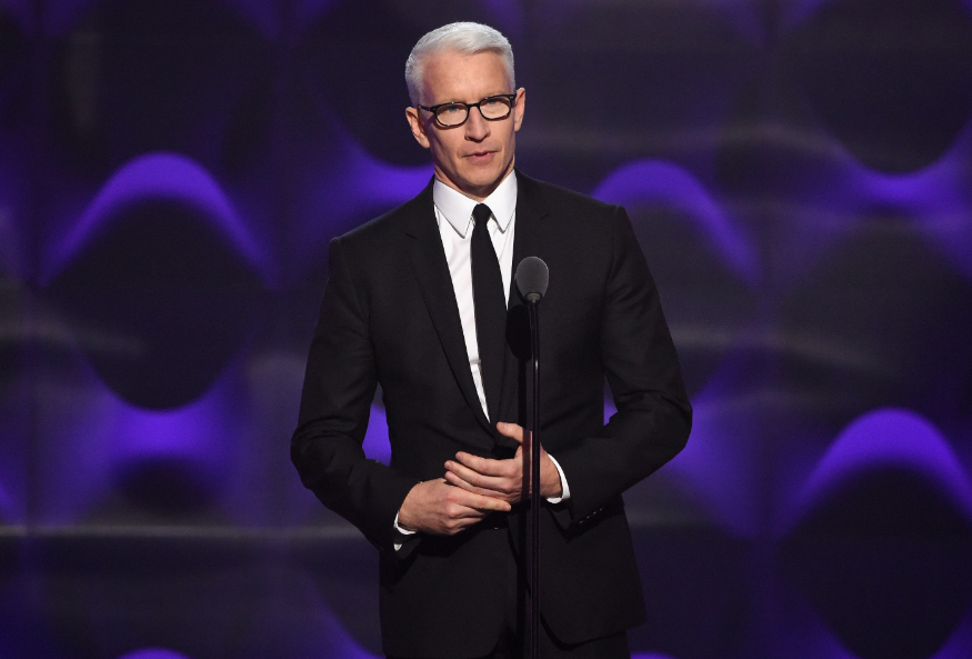 Anderson Cooper, a famous broadcast journalist
