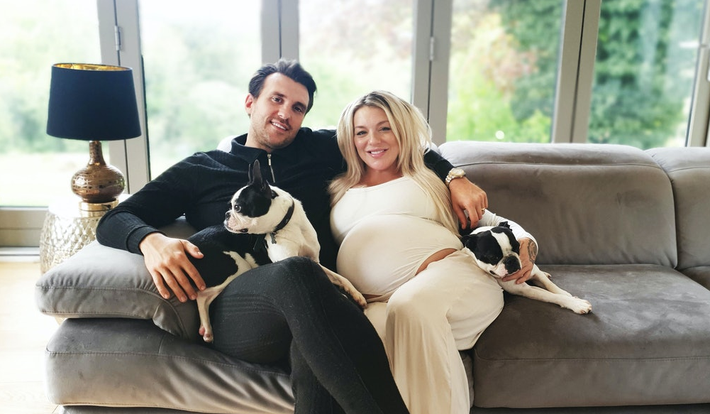 Sheridan Smith and her fiance, Jamie Horn