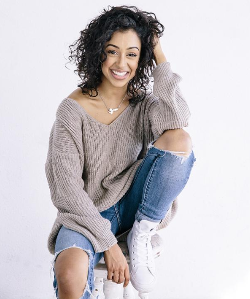 Liza Koshy, a famous YouTube star and Actress