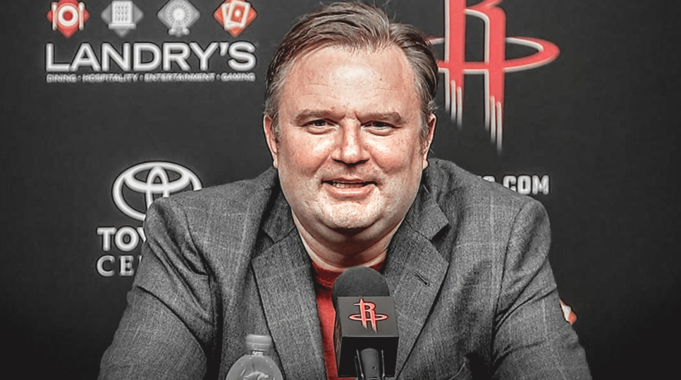 Daryl Morey, the general manager of the Houston Rockets of the National Basketball Association (NBA)