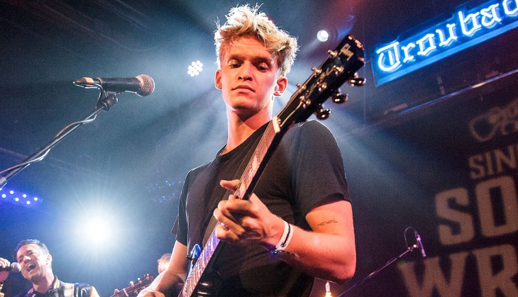 Cody Simpson, a famous singer