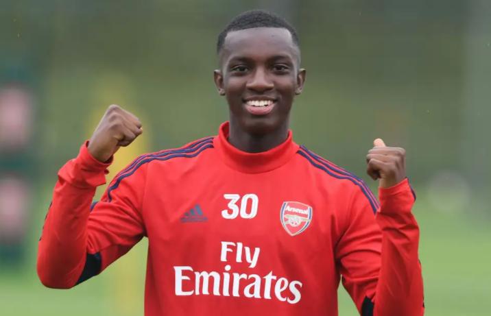 Eddie Nketiah, a professional footballer