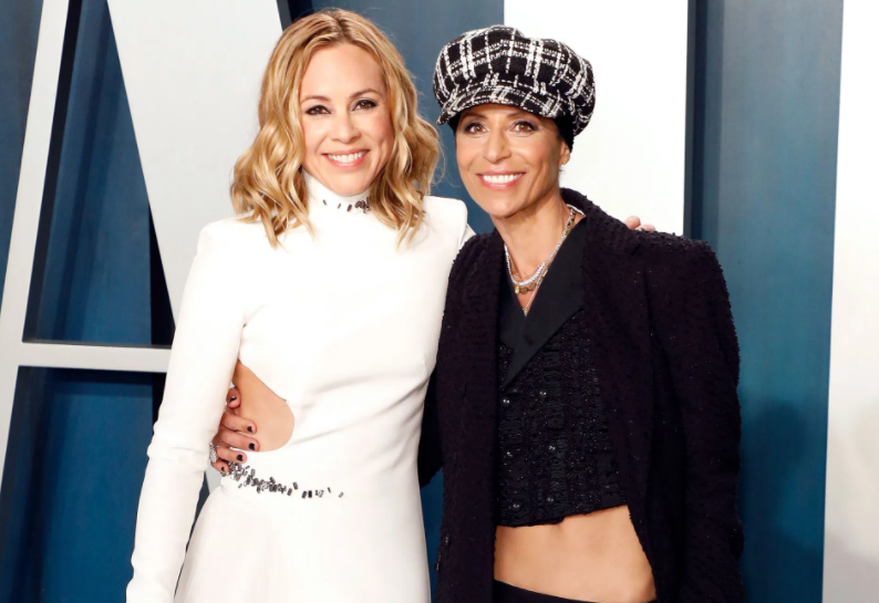 Maria Bello and her girlfriend, Dominique Crenn Engaged