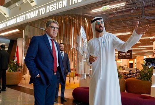 Rick Perry In Dubai