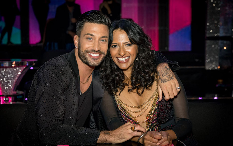 Giovanni Pernice and his partner, Ranvir Singh