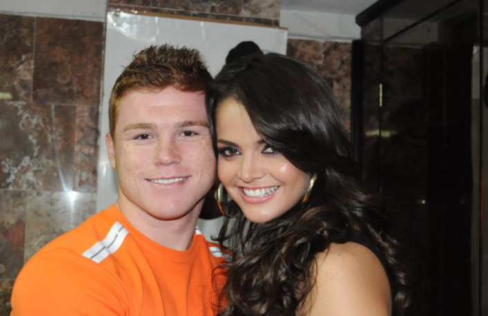 Canelo Alvarez and his fiance Marisol Gonzalez