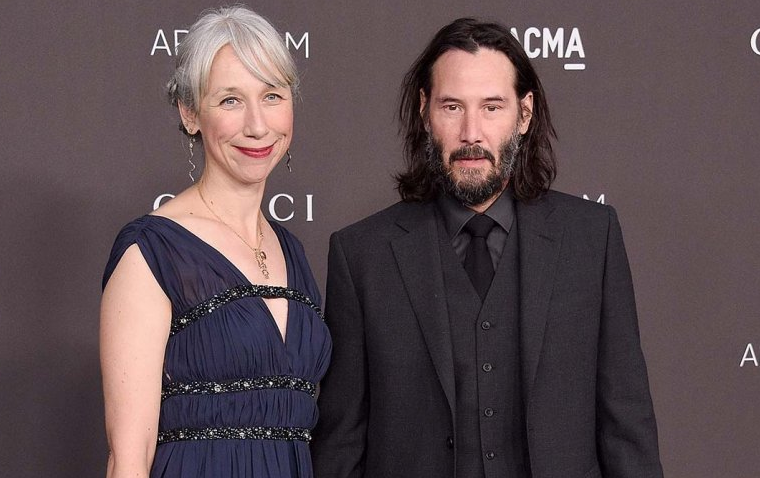 Alexandra Grant With Keanu Reeves