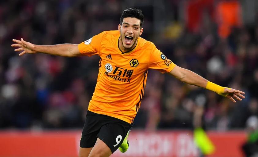 Raul Jiminez, Forward for Wolverhampton Wanderers