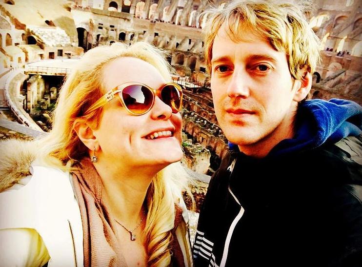 Jennifer Arcuri and her husband, Matthew Hickey