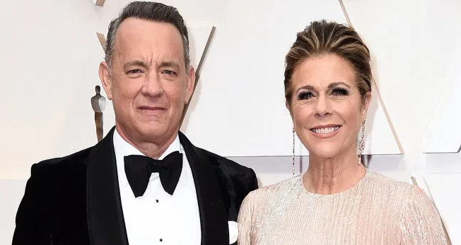 Tom Hanks With Rita Wilson