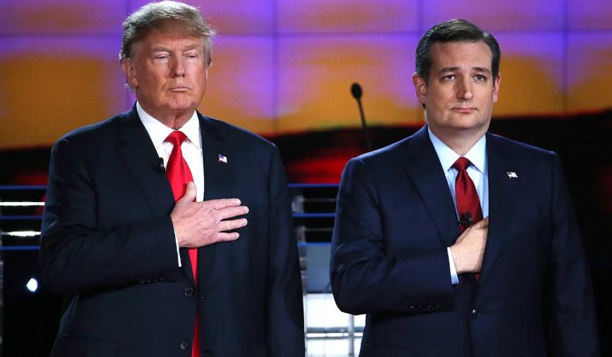 Ted Cruz With Donald Trump