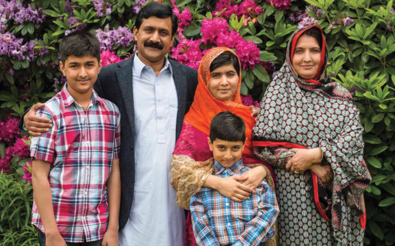 Malala Yousafzai Family