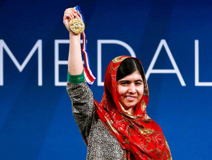 Malala Yousafzai gets US Liberty Medal