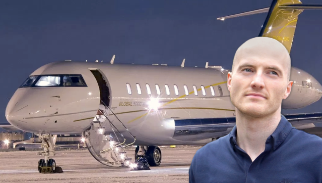 James Richman With His Private Jets