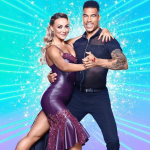 Jason Bell and Luba Mushtuk in Strictly Come Dancing