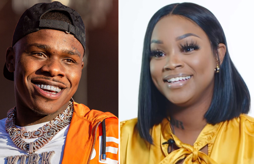 DaBaby (Left) With Meme (Right)