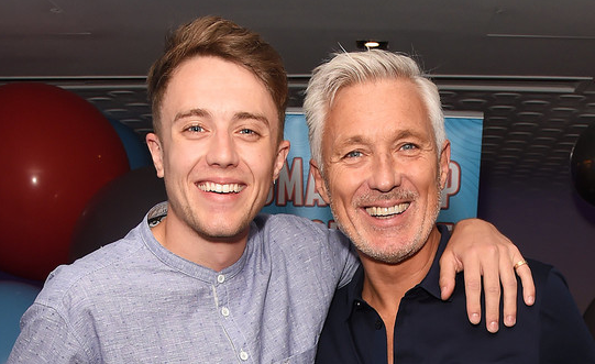 Roman Kemp With His Dad