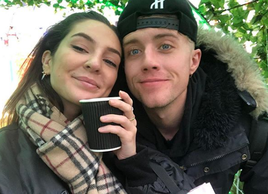 Roman Kemp With His Girlfriend Anne-Sophie Flury