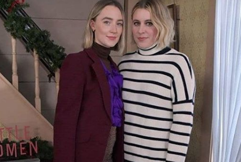 Greta With Saoirse Ronan