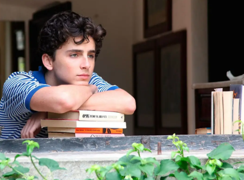 Timothee Chalamet as Elio Perlman in Luca Guadagnino's romantic drama Call Me by Your Name