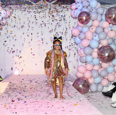 Blue Ivy Carter On 7th Her Birthday