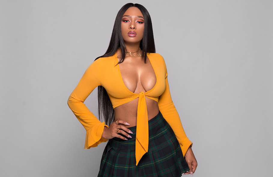 Beautiful rapper and singer, Megan Thee Stallion