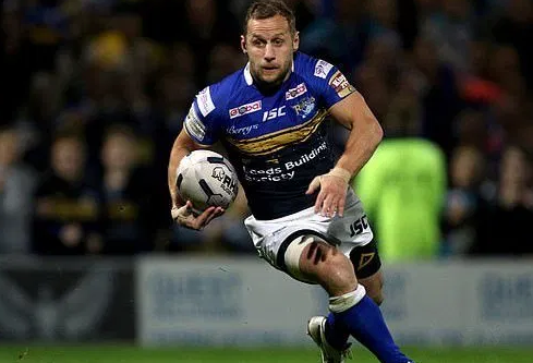 Rob Burrow Grabbing The Ball