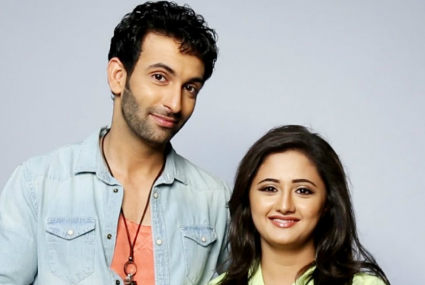 Nandish Sandhu With His Ex-Wife Reshami Desai