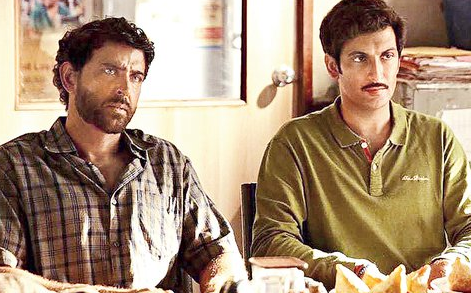 Nandish Sandhu With His Favorite Actor Hrithik Roshan In The Movie Super 30