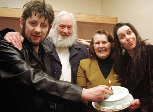 Shane MacGowan With His Parents