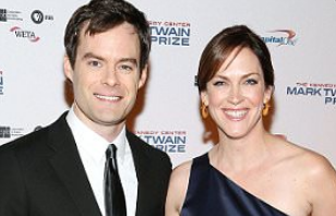 Maggie Carey With Her Ex-Husband Bill Hader