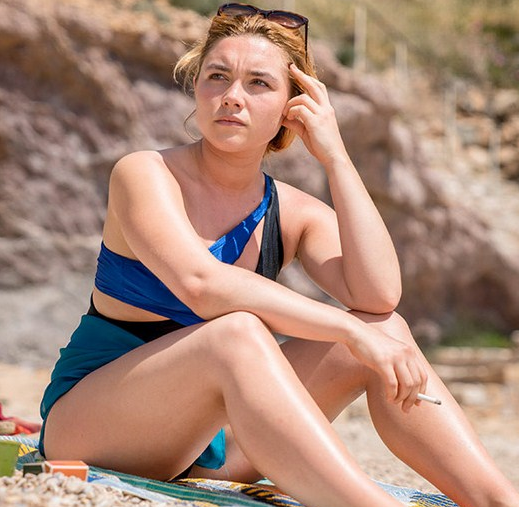 Florence Pugh Showing Her Body