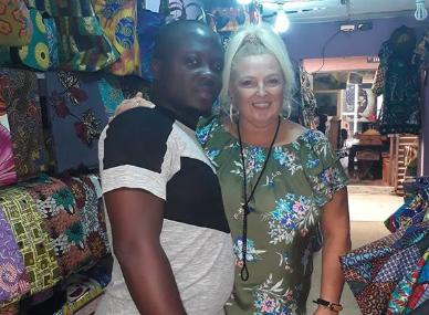 Angela Deem With Her Ex Fiance Michael
