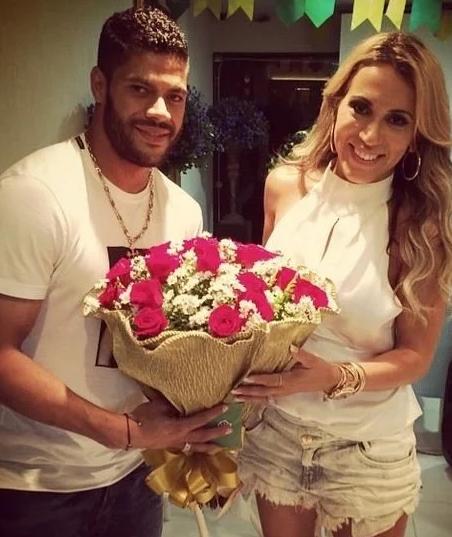 Hulk With His Ex-Wife, Iran Souza