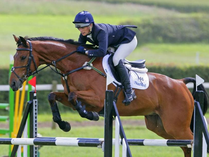 Zara Tindall horse-riding