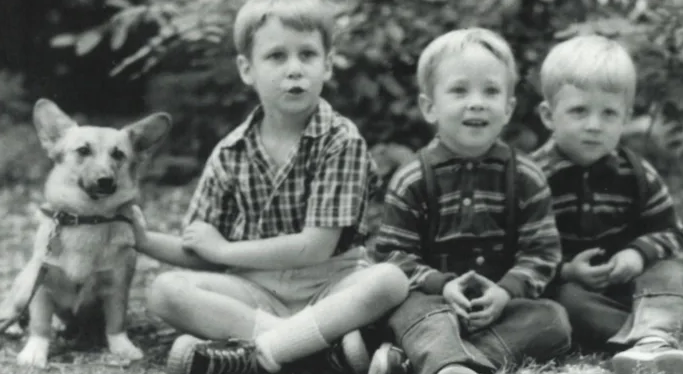 Tom Steyer With His Siblings In Childhood