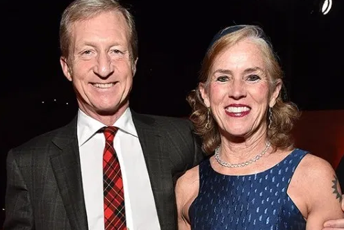 Tom Steyer With His Wife Kathryn Taylor
