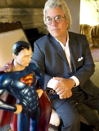 Jon Peters With Superman
