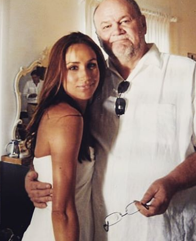 Thomas Markle With Her Daughter Meghan Markle