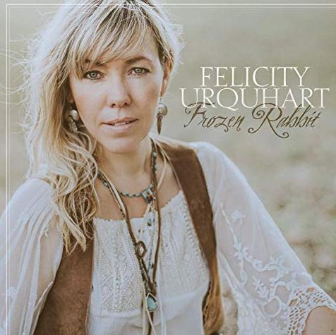 Felicity With Her Album Frozen Rabbit