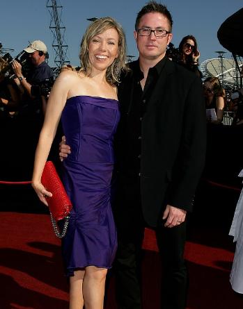 Felicity With Her Husband, Glenn Hannah
