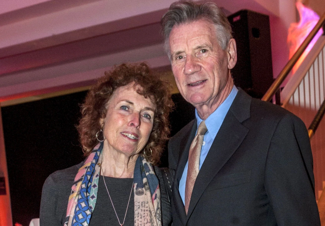 Michael Palin With His Wife