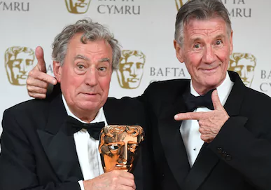 Michael Palin With Terry Jones
