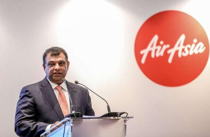 Tony Fernandes Giving Speech