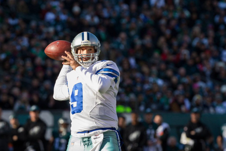 Tony Romo, a former football quarterback